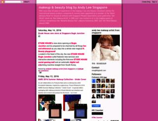 andyleemakeup.blogspot.com screenshot