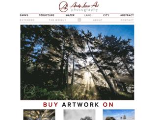 andylevineart.com screenshot