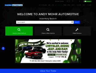 andymohr.com screenshot