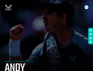 andymurray.com screenshot