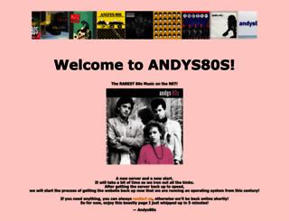 andys80s.com screenshot