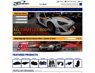 andysautosport.com screenshot
