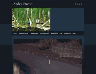 andysframe.com screenshot