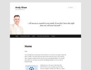 andyshaw.com screenshot