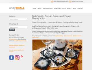 andysmall.co.uk screenshot