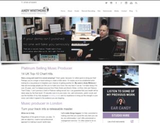 andywhitmore.com screenshot