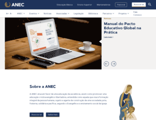 anec.org.br screenshot