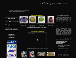 aneka-permata.com screenshot