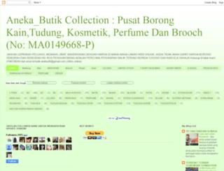 anekabutik.blogspot.com screenshot