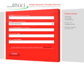 aneksfinanse.pl screenshot