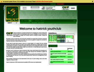 anemometer.hattrick-youthclub.org screenshot