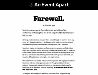 aneventapart.com screenshot