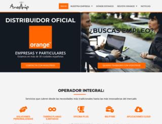 anevinip.es screenshot