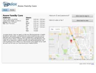 anew_family_care.myupdox.com screenshot