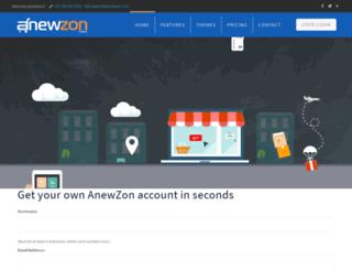 anewzone.in screenshot