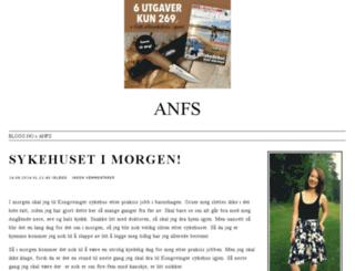 anfs.blogg.no screenshot