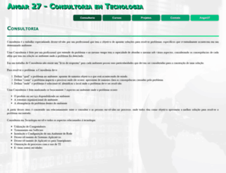 angar27.com.br screenshot