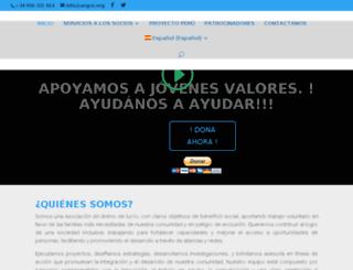 angcv.org screenshot