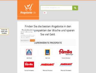 angebote-de.de screenshot