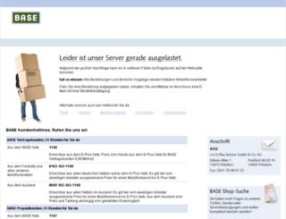 angebote.base.de screenshot