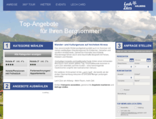 angebote.lech-zuers.at screenshot