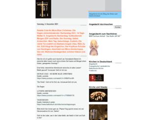 angedacht-kirche.blogspot.com screenshot