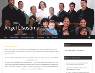angel-lisosomal.org screenshot