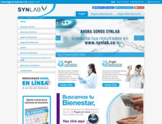 angel.com.co screenshot