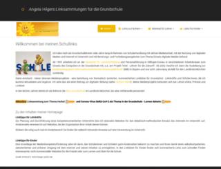 angela-hilger.de screenshot
