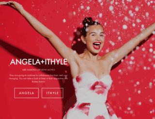 angelaandithyle.com screenshot