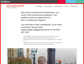angelaeagle.co.uk screenshot