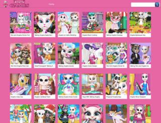 angelagames.net screenshot