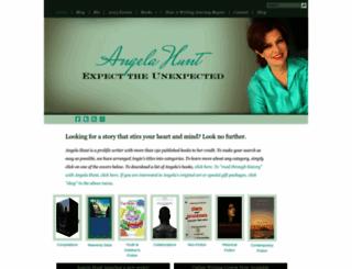 angelahuntbooks.com screenshot