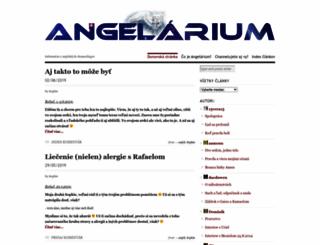 angelarium.wordpress.com screenshot