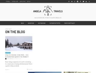 angelatravels.com screenshot