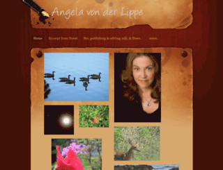 angelavonderlippe.com screenshot