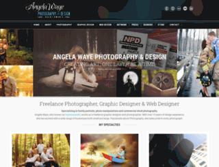 angelawaye.com screenshot