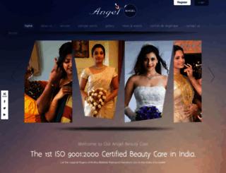 angelbeautycare.com screenshot