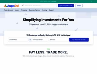angelbroking.com screenshot