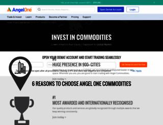 angelcommodities.com screenshot
