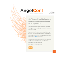 angelconf.org screenshot