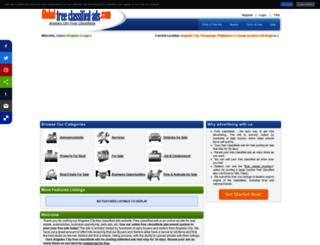 angeles-city-pam-ph.global-free-classified-ads.com screenshot