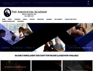 angelicum.net screenshot