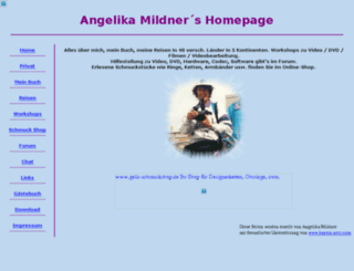 angelika-mildner.de screenshot