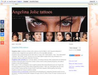 angelina-jolie-tattoos.blogspot.com screenshot