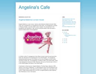 angelinaballerina87.blogspot.com screenshot