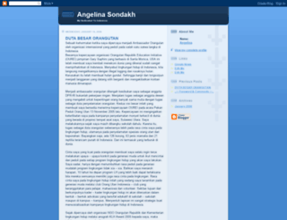 angelinasondakh.blogspot.com screenshot