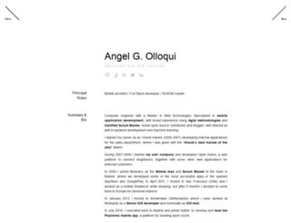 angelolloqui.com screenshot