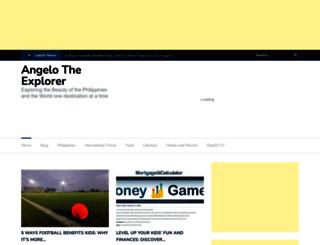 angelotheexplorer.com screenshot