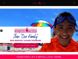 angelsarms.org screenshot